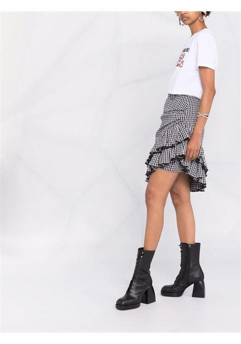 T-shirt Teddy Bear in bianco - donna MOSCHINO | V070154401001