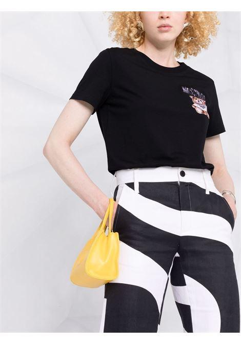 T-shirt Teddy Bear in nero - donna MOSCHINO | V070154401555