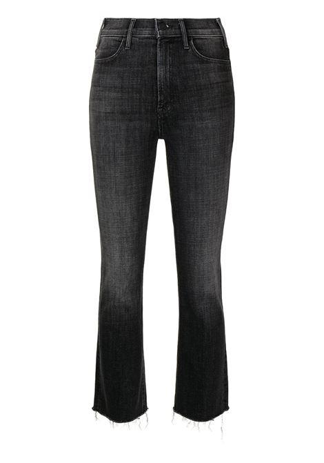 Jeans dritti hustler in grigio e nero - donna MOTHER | 1117734SHS