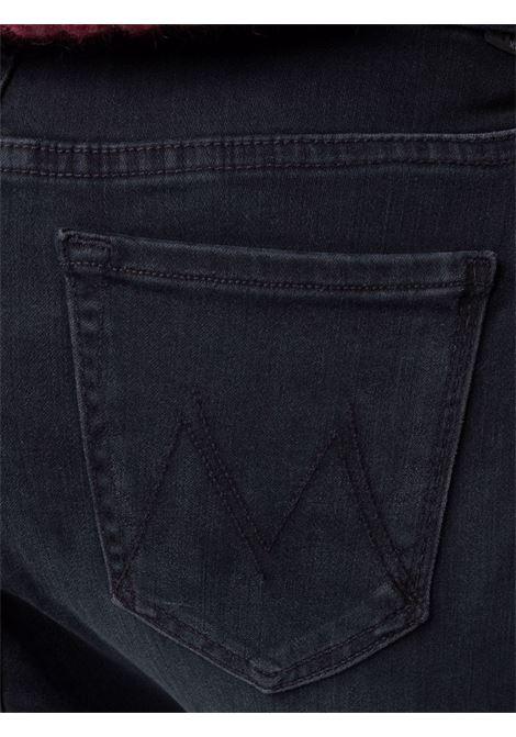 Jeans skinny a vita alta in nero - donna MOTHER | 1221408BLK