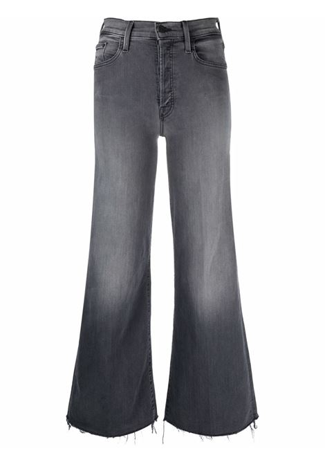Jeans svasati con vita media in grigio - donna MOTHER | 1225180DML