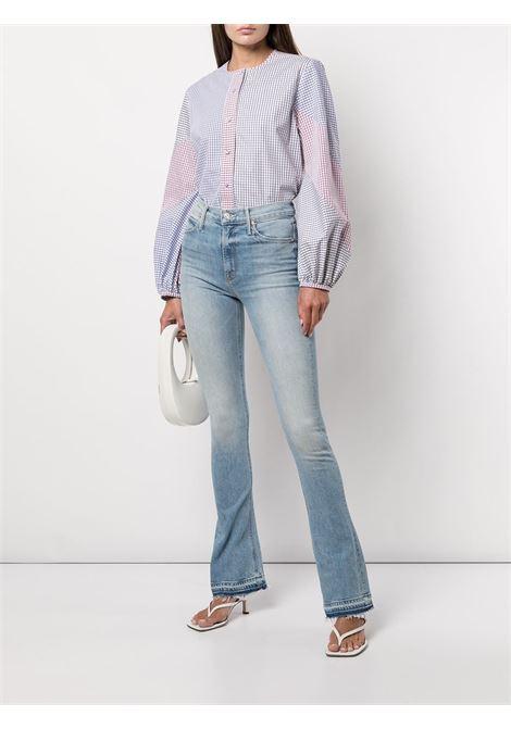 Jeans skinny a vita alta in azzurro - donna MOTHER | 1253259OMF