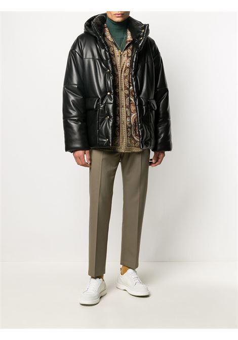 Black hooded bomber jacket - man  NANUSHKA   NM20FWOW02599