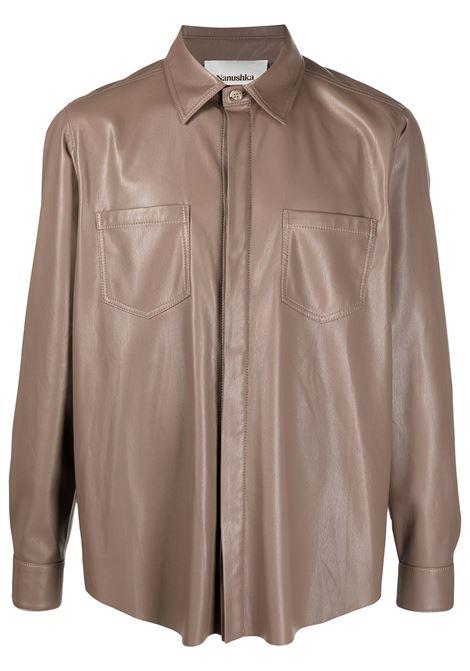 Camicia a manica lunghe grigio - uomo NANUSHKA | NM21PFSH00395