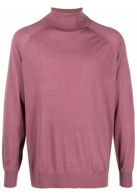 Maglione a collo alto in rosa - uomo NANUSHKA | NM21PFTP00725