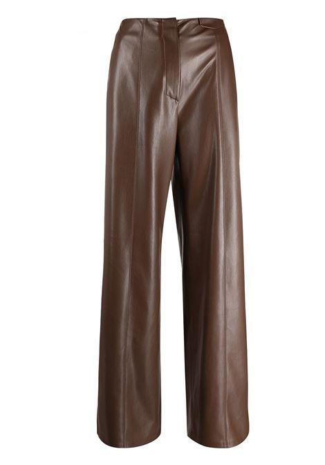 Pantaloni svasati in marrone - donna NANUSHKA | NW21PFPA00778