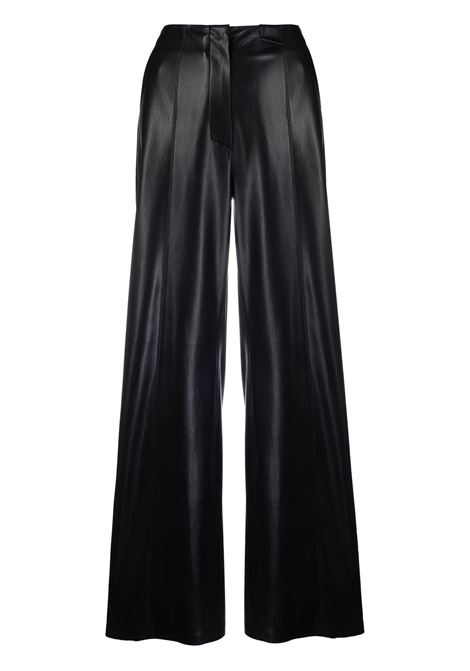 Pantaloni svasati in nero - donna NANUSHKA | NW21PFPA00799