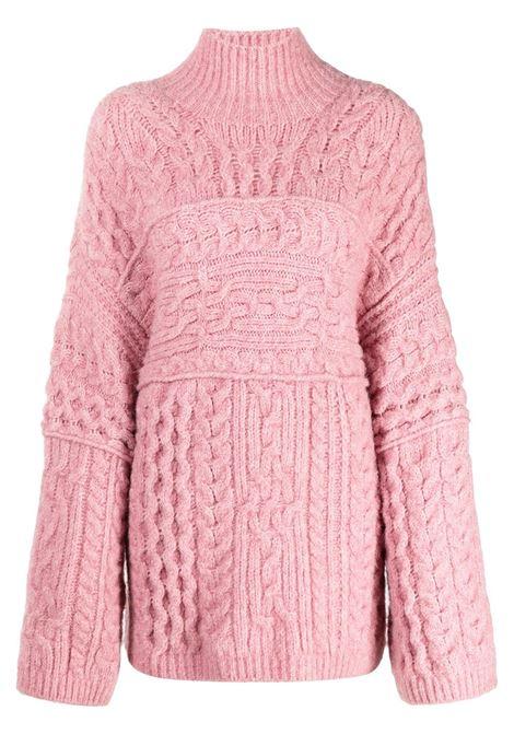 Maglione oversize rosa - donna NANUSHKA | NW21PFSW00532