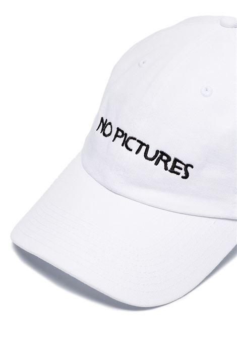 Cappello da baseball no pictures in bianco - uomo NASASEASONS | C012W