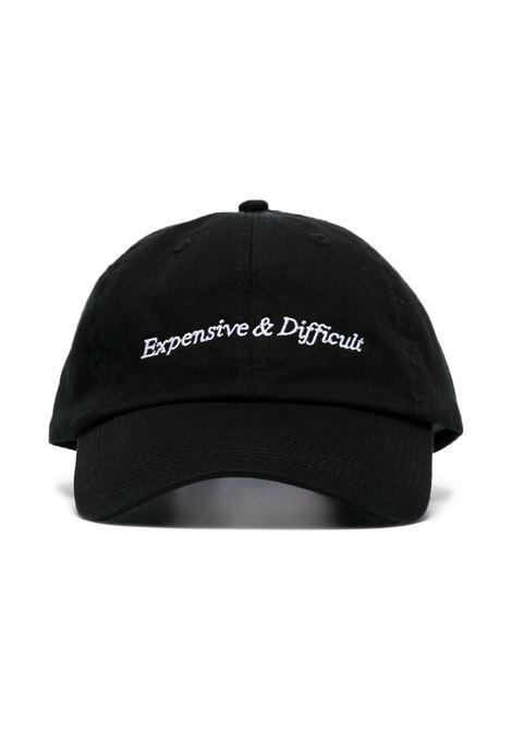 Black Expensive & Difficult baseball cap - men  NASASEASONS | C021B