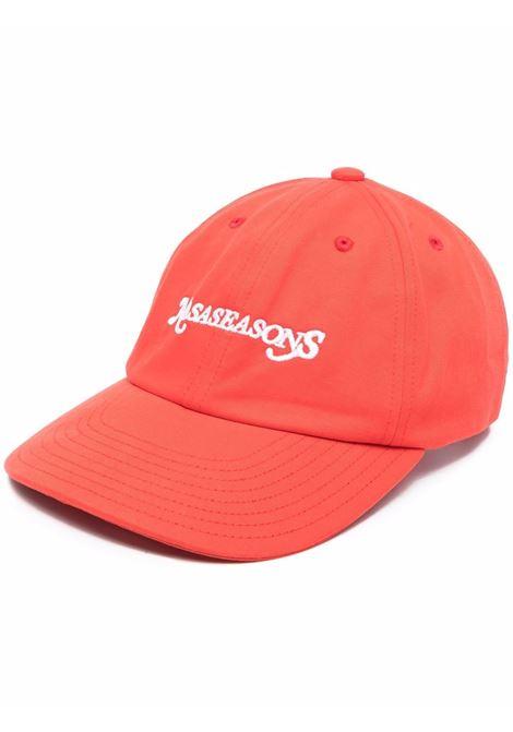 Cappello da baseball con logo in rosso - uomo NASASEASONS | C053R