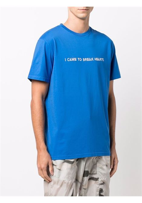 T-shirt con ricamo I Came To in nero - uomo NASASEASONS | T017BU