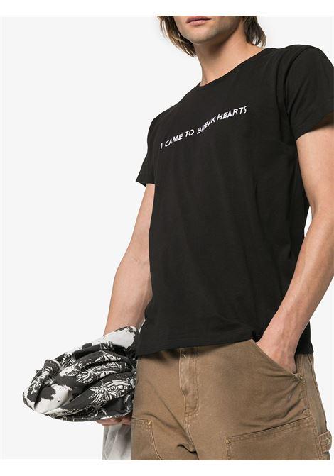 T-shirt con ricamo I Came To in nero - uomo NASASEASONS | T017B