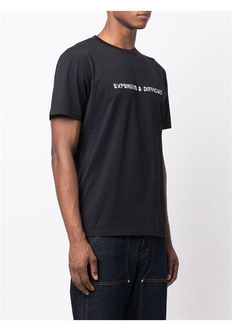T-shirt Expensive & Difficult in nero - uomo NASASEASONS | T019B