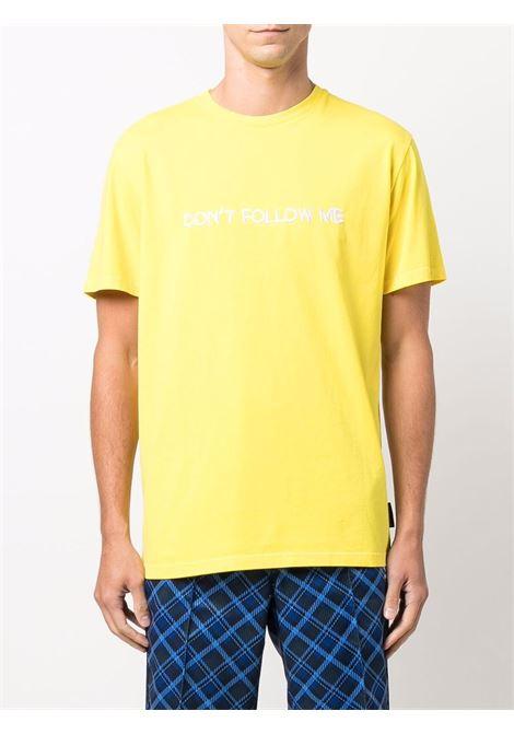 T-shirt don't follow me in giallo - uomo NASASEASONS | T053Y
