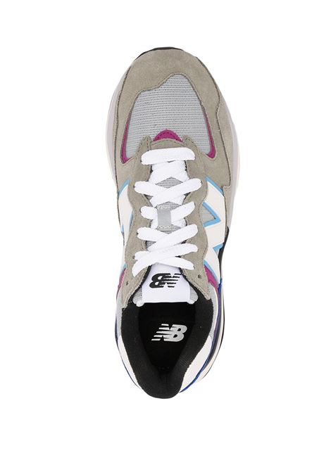 Grey low-top lace-up sneakers - men  NEW BALANCE | M5740DD1GRY
