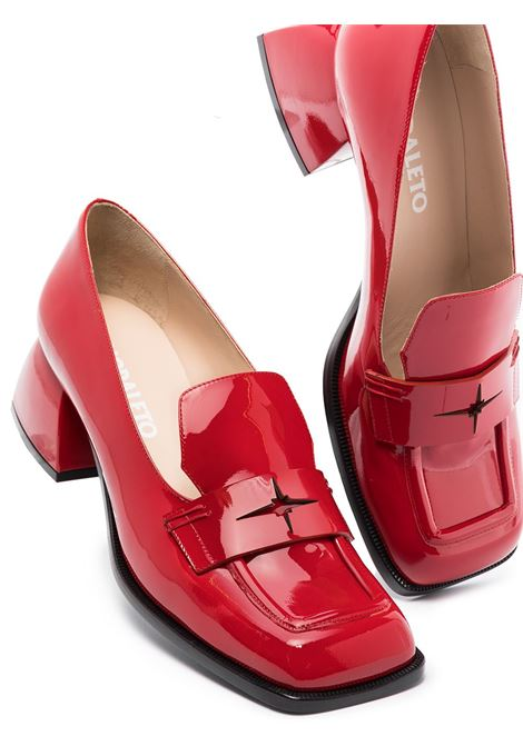 Bulla cara mocassini in rosso - donna NODALETO | NO42530RD