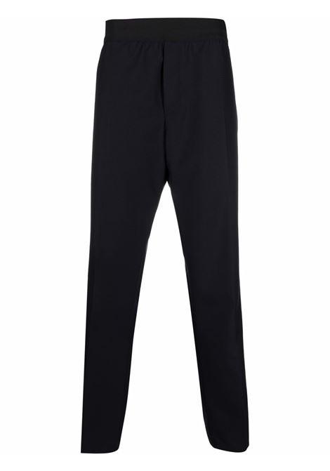 Blue mid-rise straight trousers - men OAMC   OAMT310833OT200200401