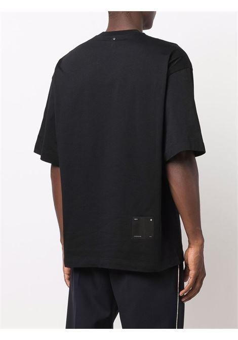 Black chest-pocket cotton T-shirt - men OAMC   OAMT701268OT248908A001