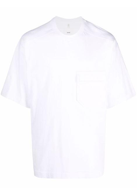 White chest-pocket cotton T-shirt - men OAMC   OAMT701268OT248908A100