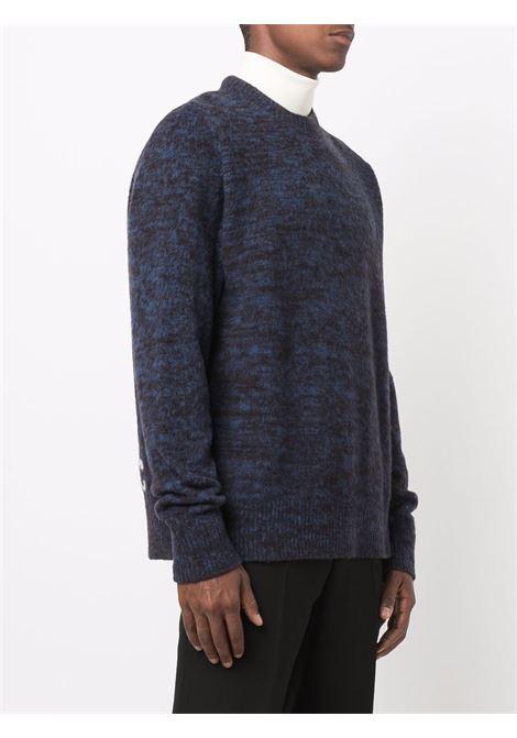 Maglione a girocollo in blu e nero - uomo OAMC | OAMT750467OTY20003A455