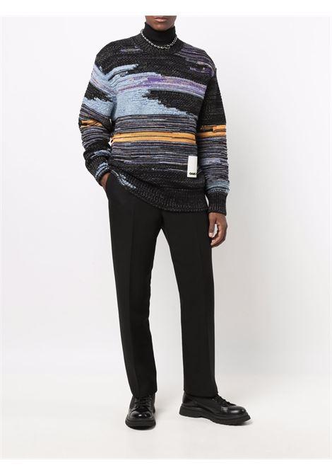 Maglione a righe multicolore - uomo OAMC | OAMT751067OTY20004A457