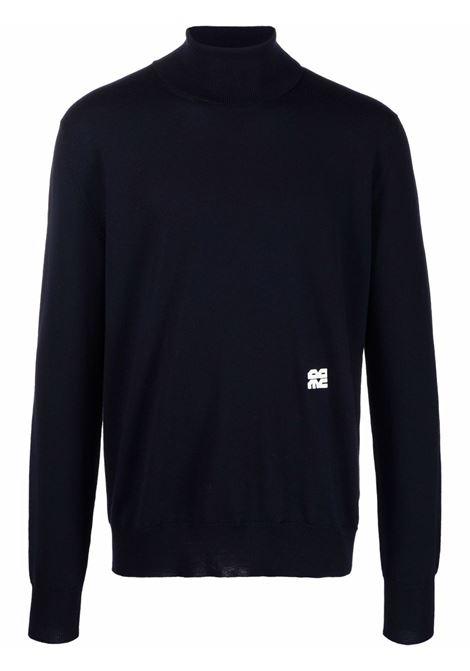 Maglione a collo alto in blu - uomo OAMC | OAMT752867OTY20001401