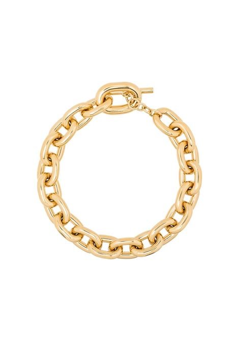 Gold-colored chain necklace - woman PACO RABANNE | 20PBB0015MET077P710