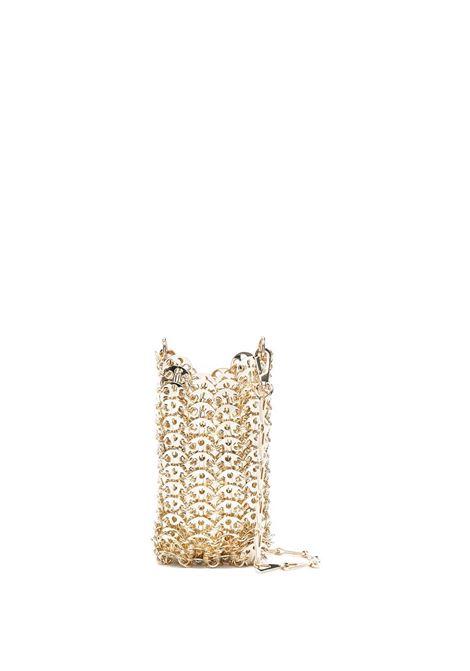 1969 mini bag with metal discs in gold - woman PACO RABANNE | 20PSS0142MET002P711