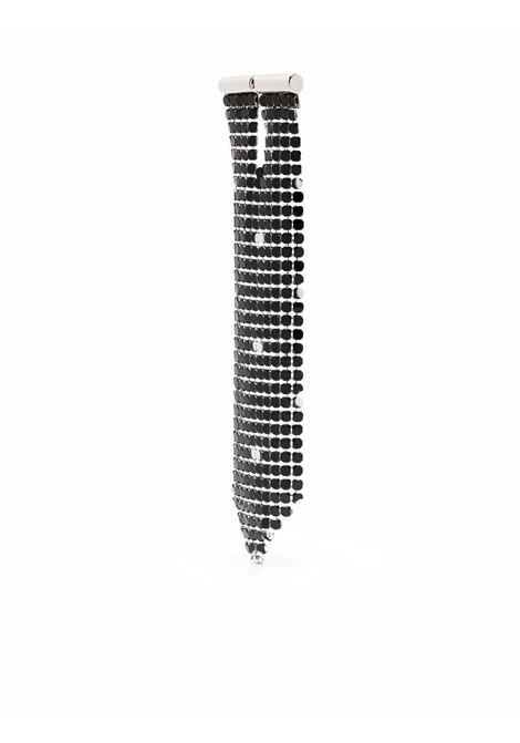 Black mesh drop earring - women  PACO RABANNE | 21ABB0002MET194V082