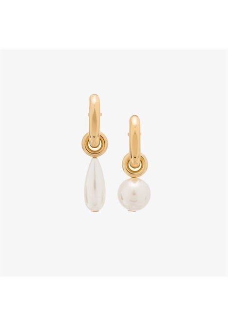 Gold-tone pearl earrings - women  PACO RABANNE | 21ABB0173MET200M703