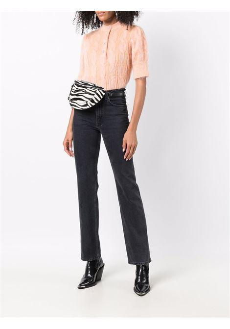Orange soft cable knit jumper - women  PACO RABANNE | 21AMT0351ML0132M664