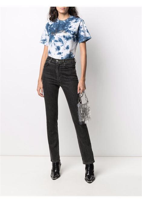 Tie-dye print t-shirt blue - women PACO RABANNE | 21HJTE053C00410M414