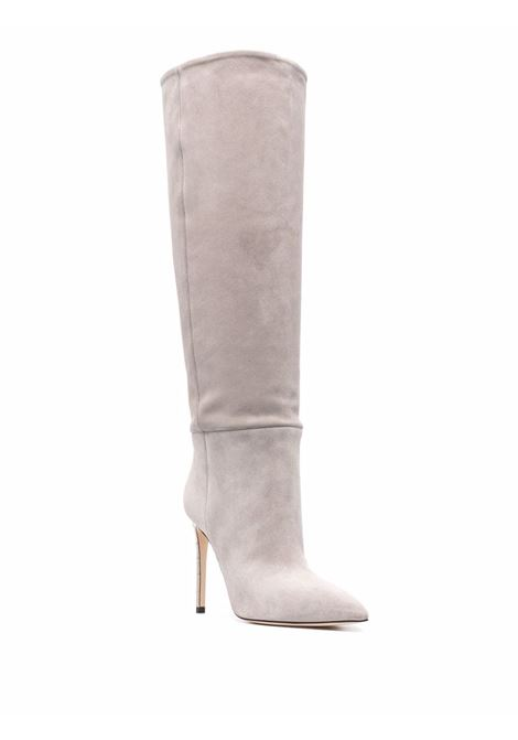 Knee-high boots pearl grey - women PARIS TEXAS | PX133LXV003PRLGRY