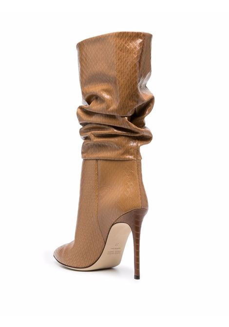 Slouchy leather boots in  light brown - women PARIS TEXAS | PX514XPMNGTRR