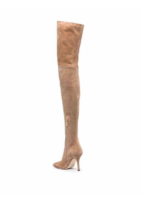 Pull on high boots light brown- women PARIS TEXAS | PX606XVST3NCCL