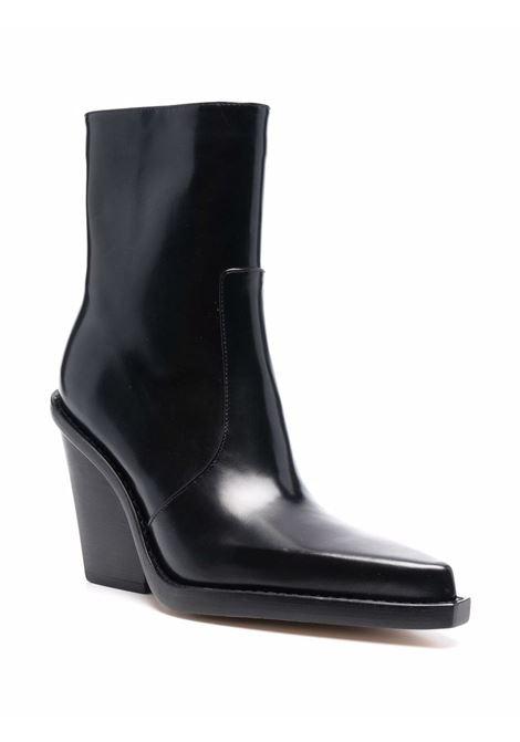 Black 115mm pointed-toe ankle boots - women  PARIS TEXAS | PX611XSZT1BLK
