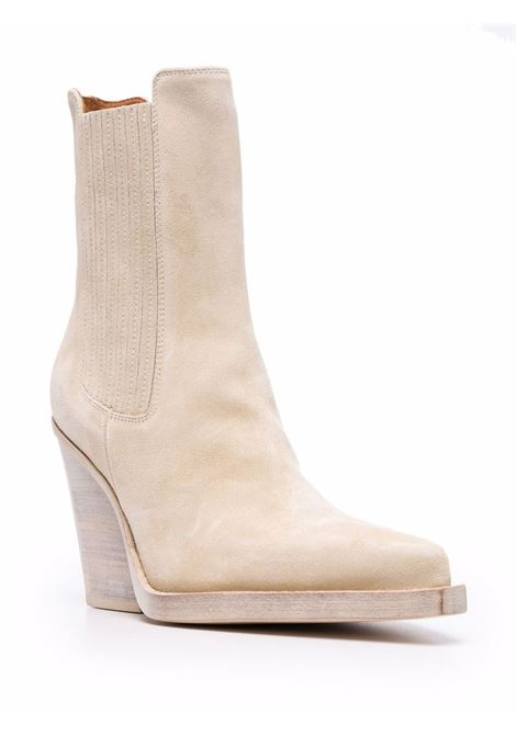 Pointed ankle boots beige- women PARIS TEXAS | PX613XV003ANGR