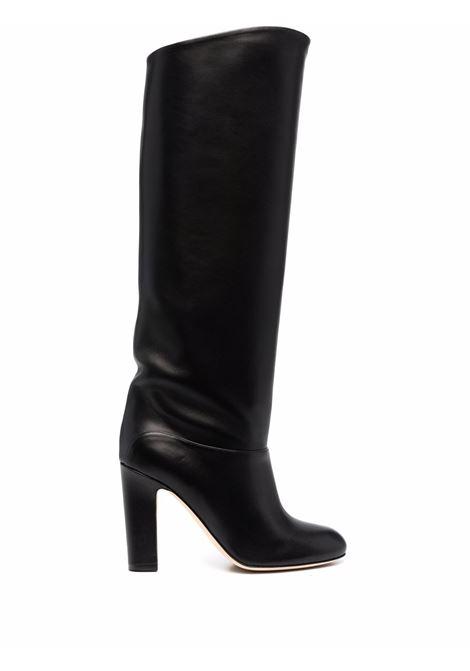 Knee-length leather boots in black - women PARIS TEXAS | PX634XNPP3BLK