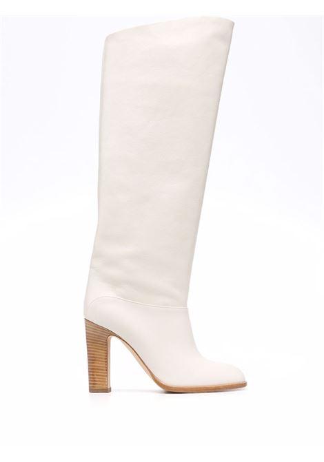 High pointed boots beige- women PARIS TEXAS | PX635XPRTBVNLL
