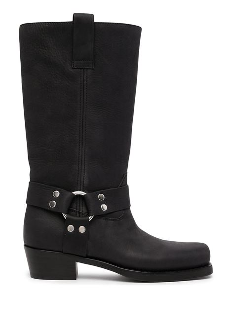 Black square-toe Roxy boots - women  PARIS TEXAS | PX662XVT03CRBN