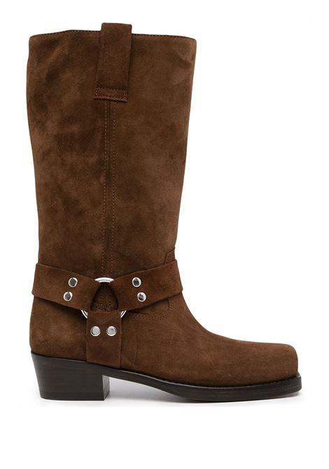 Brown square-toe Roxy boots - women  PARIS TEXAS | PX662XVW03CNYN