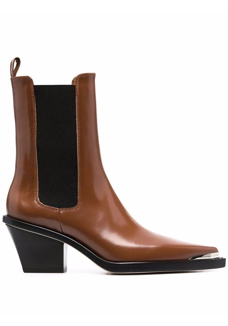 Rodeo pointed-toe ankle boots in brown - women PARIS TEXAS | PX681XSZT1CRML