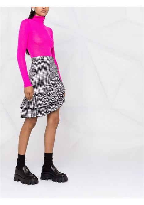 Pink roll neck wool jumper - women  PHILOSOPHY DI LORENZO SERAFINI | A09227100217