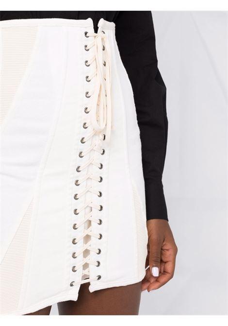 White lace mini skirt - women  PHILOSOPHY DI LORENZO SERAFINI | V010671312
