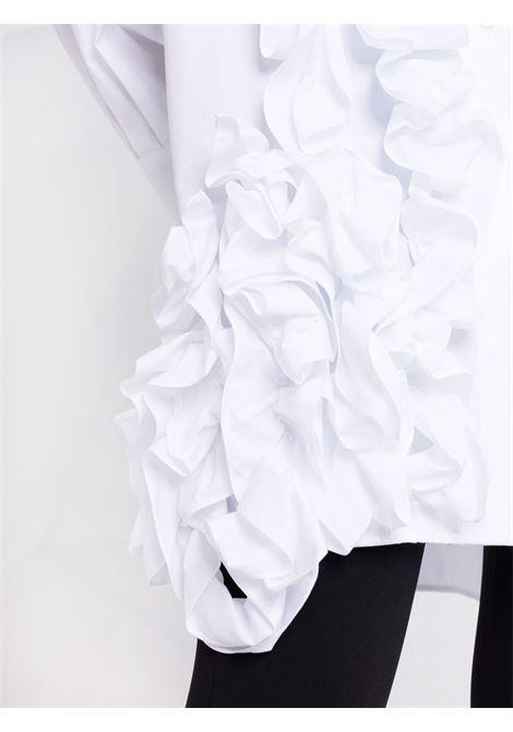 Camicia oversize con ruches binaco - donna PHILOSOPHY DI LORENZO SERAFINI | V021557171