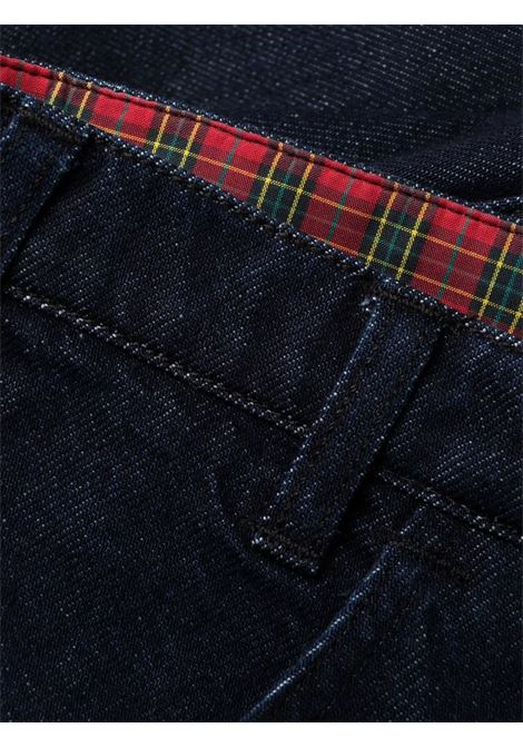 High-rise straight-leg jeans blue - women  PHILOSOPHY DI LORENZO SERAFINI | V03245730290