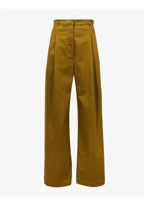 Pantaloni a gamba ampia in marrone - donna PROENZA SCHOULER WHITE LABEL | WL2136097AC115311