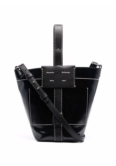 Small Sullivan Coated bag in black - women PROENZA SCHOULER | WB213005F00003001