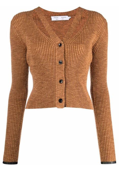 Cardigan crop marrone- donna PROENZA SCHOULER | WL2137640KC089241